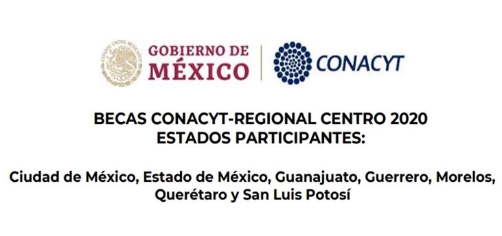 Becas CONACYT-Regional Centro 2020