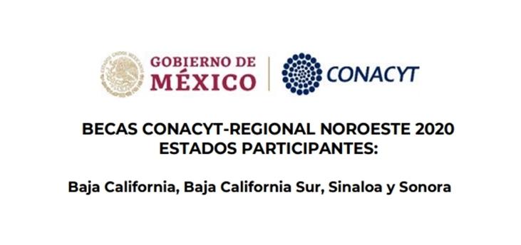 Becas CONACYT-Regional Noroeste 2020