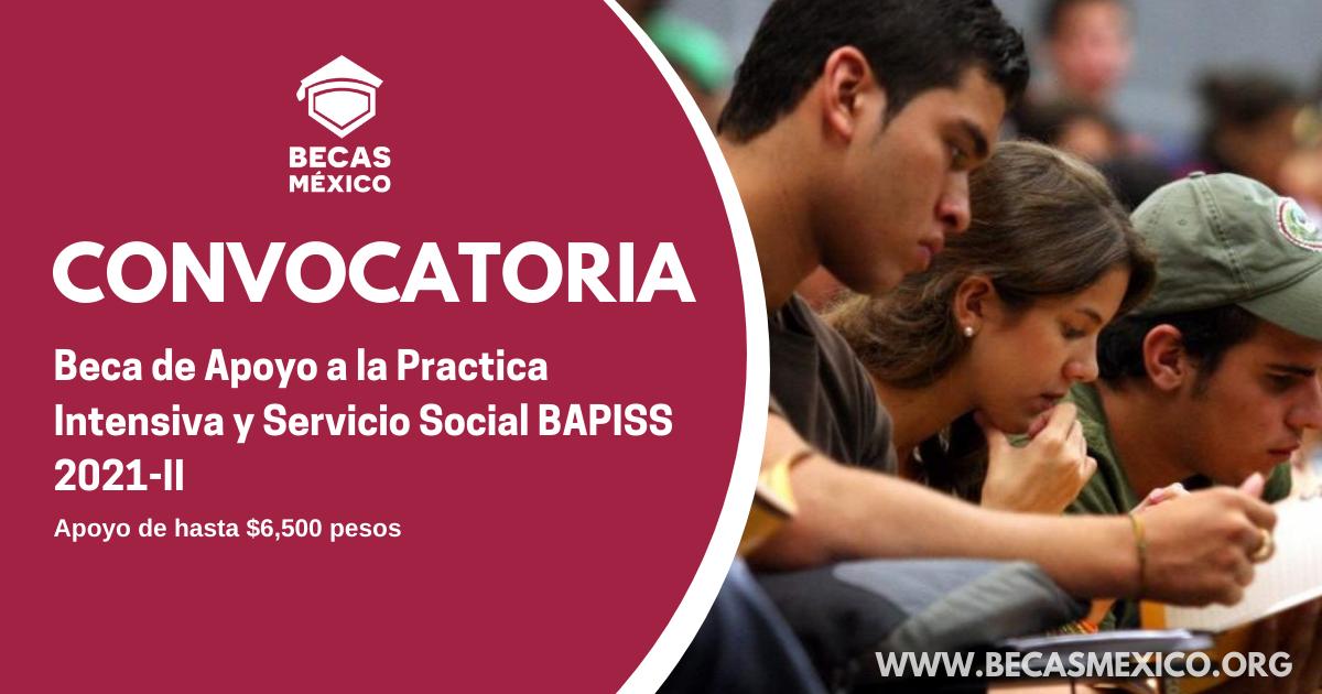 BECA DE APOYO A LA PRÁCTICA INTENSIVA Y SERVICIO SOCIAL BAPISS 2021-II