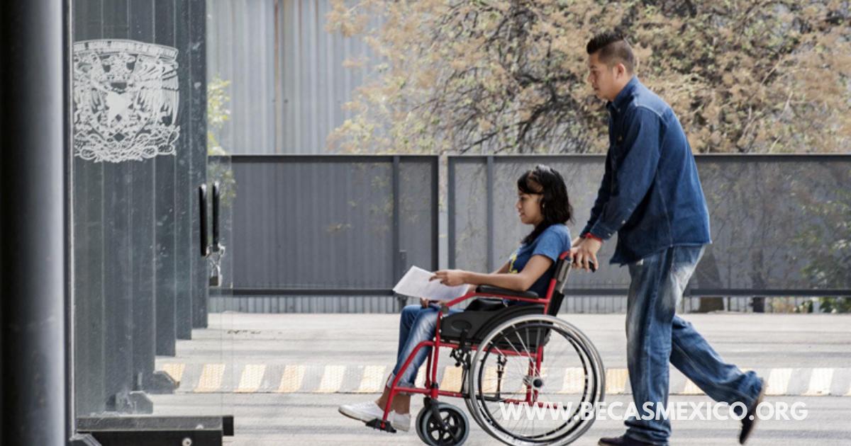 Beca Discapacidad o Enfermedad Crónico-Degenerativa 2021